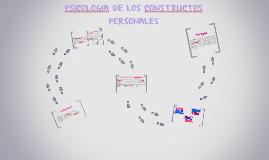 PSICOLOGIA DE LOS CONSTRUCTOS PERSONALES