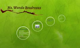 Ms. Wanda Boudreaux