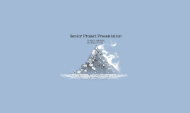 Senior Project: Fundraising and Marketing