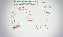 CARTAS DO EDITOR DA REVISTA CLAUDIA: ESTUDO DAS ESCOLHAS LEX