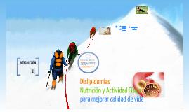 Copy of Actividad Física y Nutrición para las Dislipidemias