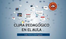 CLIMA PEDAGÓGICO