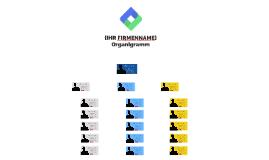 Kopie von Kostenfreie Vorlage: Organigramm