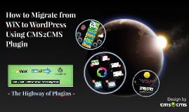 How to Migrate from WiX to WordPress Using CMS2CMS Plugin