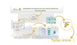 Lineamientos De Arquitectura Para Nuevas Plataformas