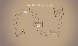 Copy of Ibn Battuta's Travels.