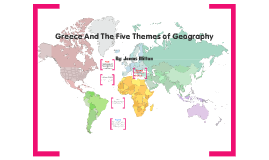 Athens and the Geography of greece