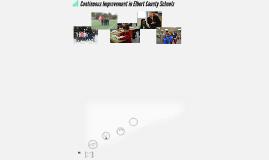 Continuous Improvement in Elbert County Schools