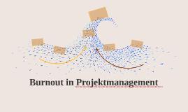 Burnout in Projektmanagement