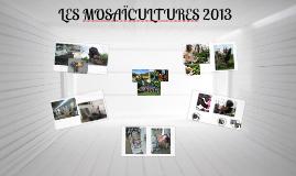 Les mosaicultures 2013