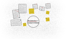 Copy of PEDAGOGIA Y SUBJETIVIDAD