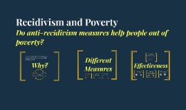 Recidivism and Poverty