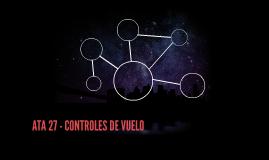 ATA 27 - CONTROLES DE VUELO