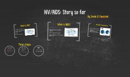 HIV/AIDS: Story so far