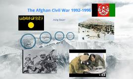 Afghan Civil War