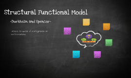 Structural Functional Model