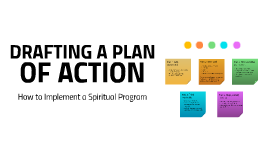 Drafting a Plan of Action