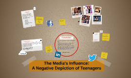 Teens Portrayed In Media - Negative