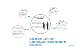 business contractual relationship Type of relationship refers to facts that show how the worker and business perceive their relationship to each other the factors, for the type of relationship between two parties, generally fall into the categories of: written contracts employee benefits permanency of the relationship services provided as key activity of the.