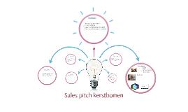 Copy of Sales pitch kerstbomen