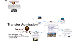 Rowan University Transfer Admission