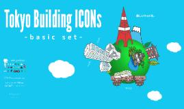 Tokyo Building Icons -bacic set-