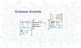 Grammar Analysis