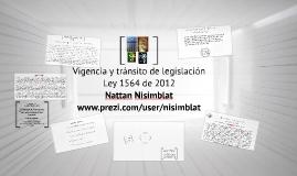 Tránsito de legislación en la Ley 1564 de 2012-Nattan Nisimblat