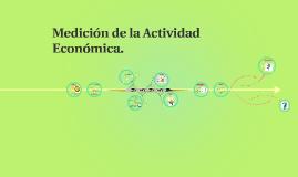 Medición de la Actividad Económica.