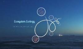 Copy of Chapter 3: Ecosystem Ecology