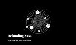 Defunding Nasa