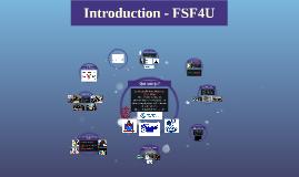 Introduction - FSF4U
