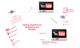 Copy of Solving Equations by Multiplying and Dividing