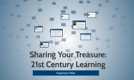 Sharing Your Treasure: 21st Century Learning