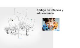 Código de infancia y adolecencia