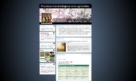 Procésos microbiológicos en la agricultura