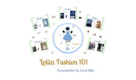 Lolita Fashion 101
