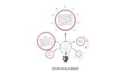 SERVIDUMBRE