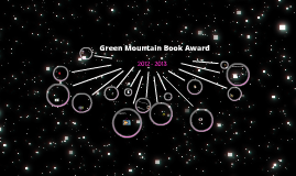 Green Mountain Book Award 2012- 2013