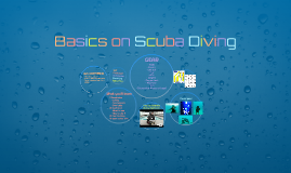 Basics on Scuba Diving