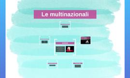 Copy of Le multinazionali