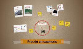 Fraude en examens