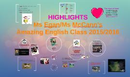 Ms Egan/Ms McCann's