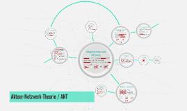 ANT - Akteure-Netzwerk-Theore