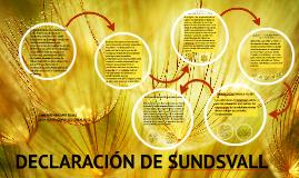 Copy of Copy of DECLARACIÓN DE SUNDSVALL