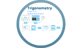 Grade 12 IB  Math Studies - Trigonometry