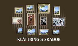 KLÄTTRING & SKADOR