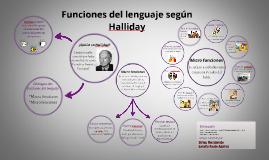 Copy of Funciones del lenguaje según Halliday