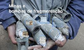 Minas e bombas de fragmentação