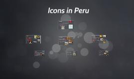 Icons in Peru